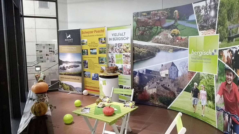 Ausstellung im Bahnhof Siegburg