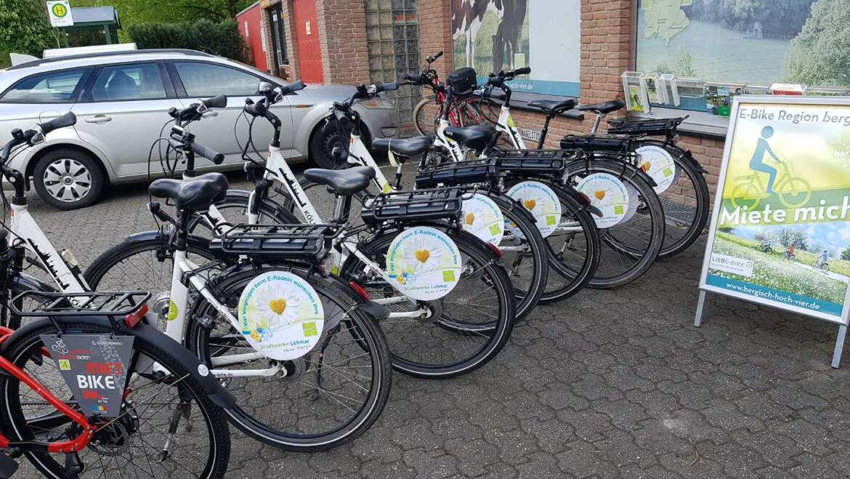 Wir haben unser E-Bike-Kontingent aufgestockt