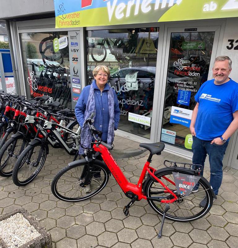 Neue E-Bikes für Bergisch-hoch-vier